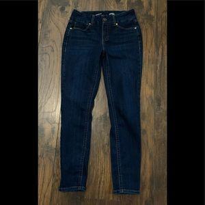 Seven 7 Dark Wash Skinny Jeans